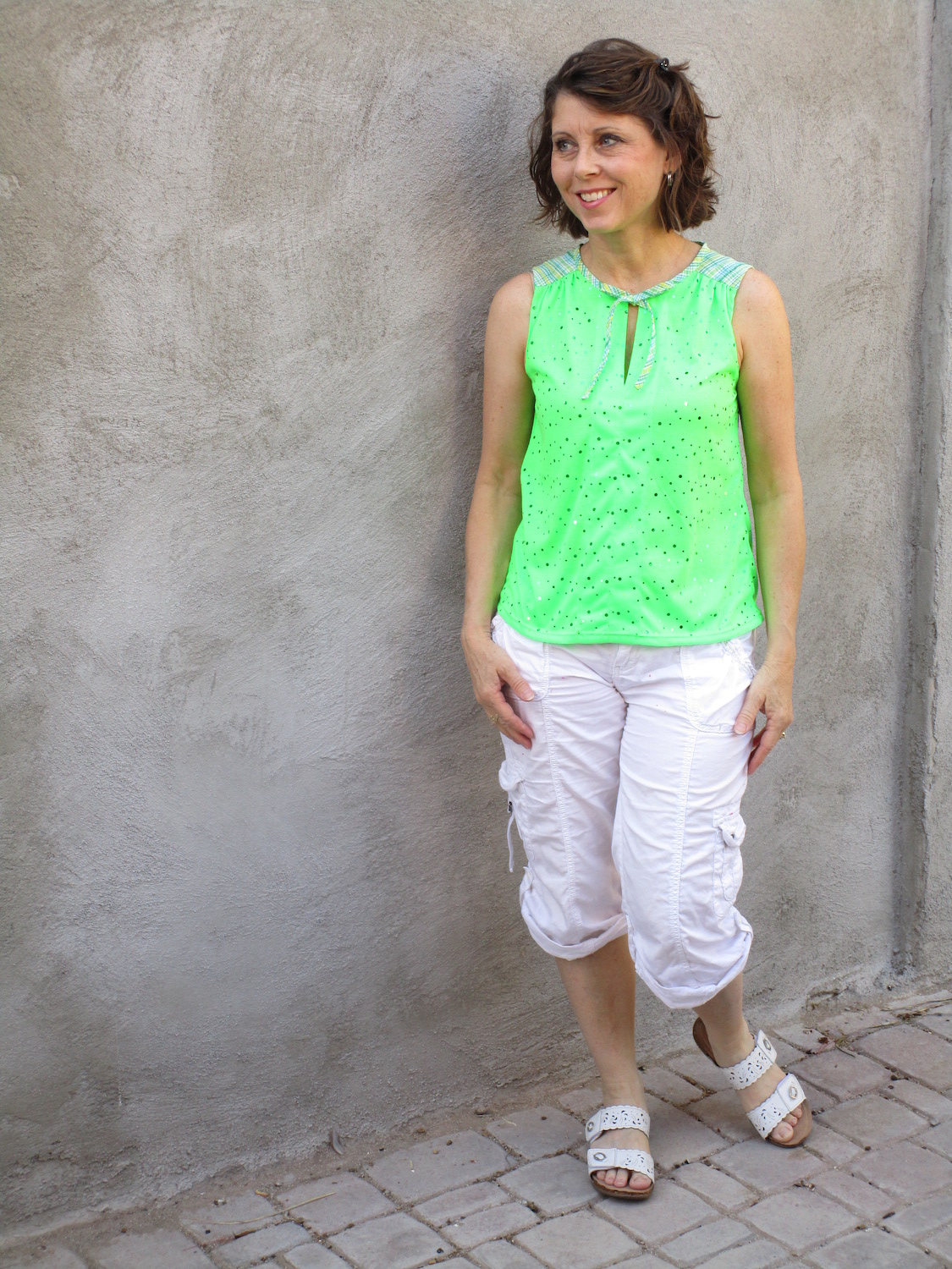 Itch to Stitch Vienna Tank PDF Sewing Pattern Tester Photo