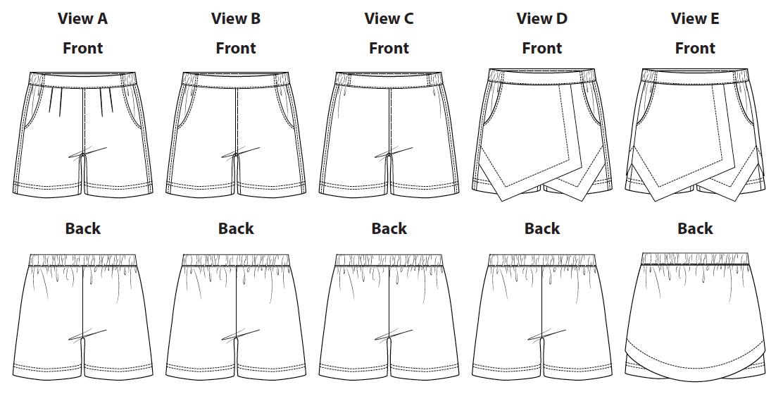 Belize Shorts & Skort Views