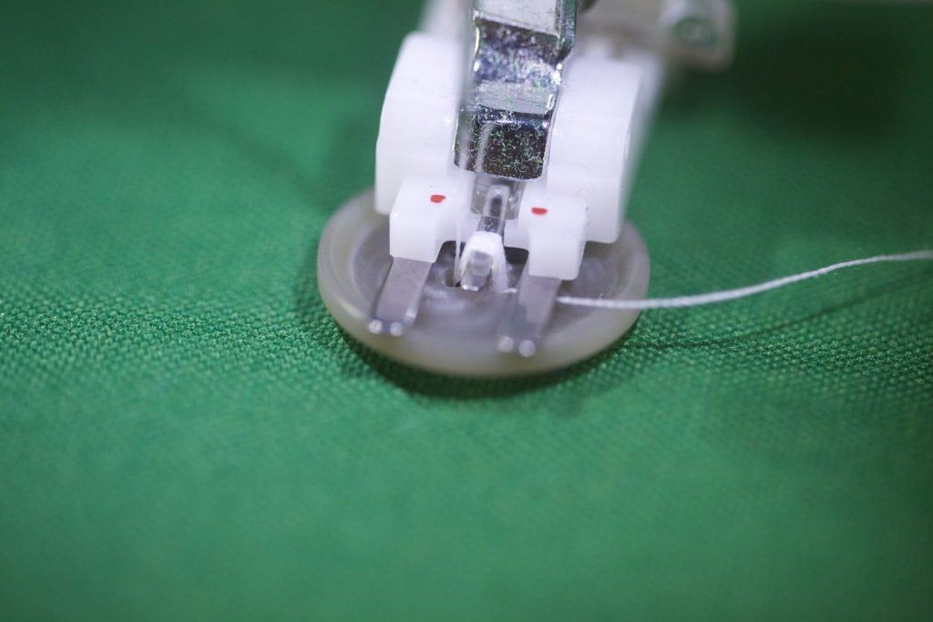 How to Sew a Button Using Your Sewing Machine