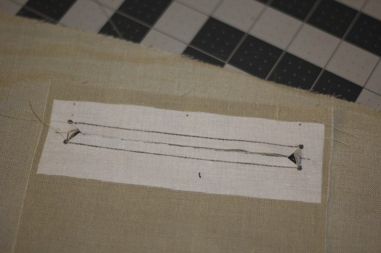 Single Welt Pocket Tutorial