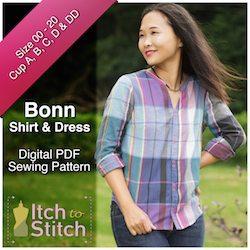 BonnShirt&DressPDFSewingPattern250x250