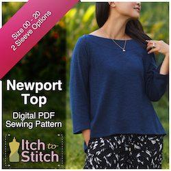 NewportTopPDFSewingPattern250x250