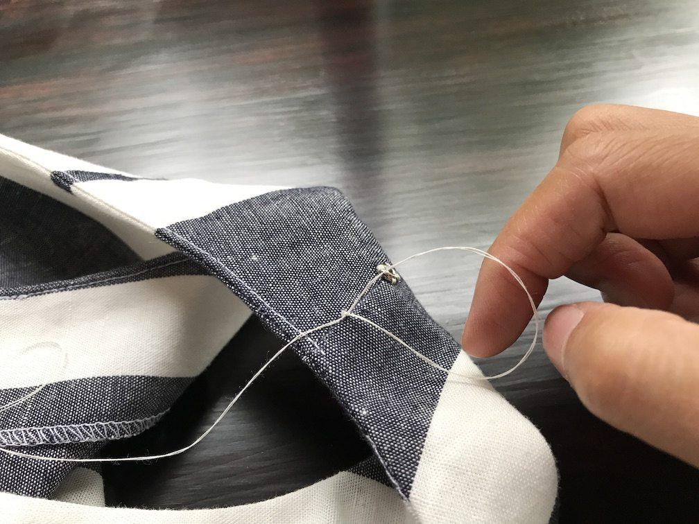 How to make a bra strap holder