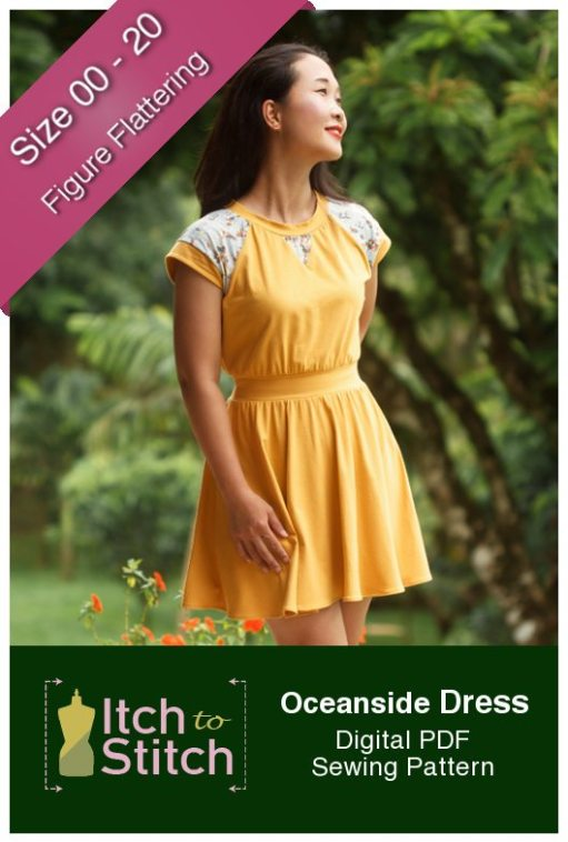 Itch to Stitch Oceanside Dress Sewing Pattern