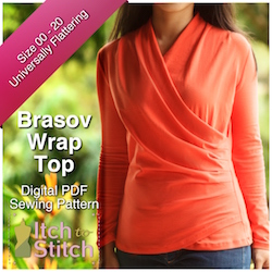 Brasov Wrap PDF Sewing Pattern