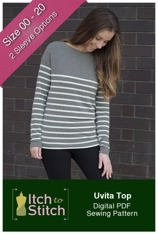 Itch to Stitch Uvita Top PDF Sewing Pattern - Free Pattern