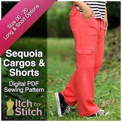 Sequoia Cargos & Shorts PDF Sewing Pattern