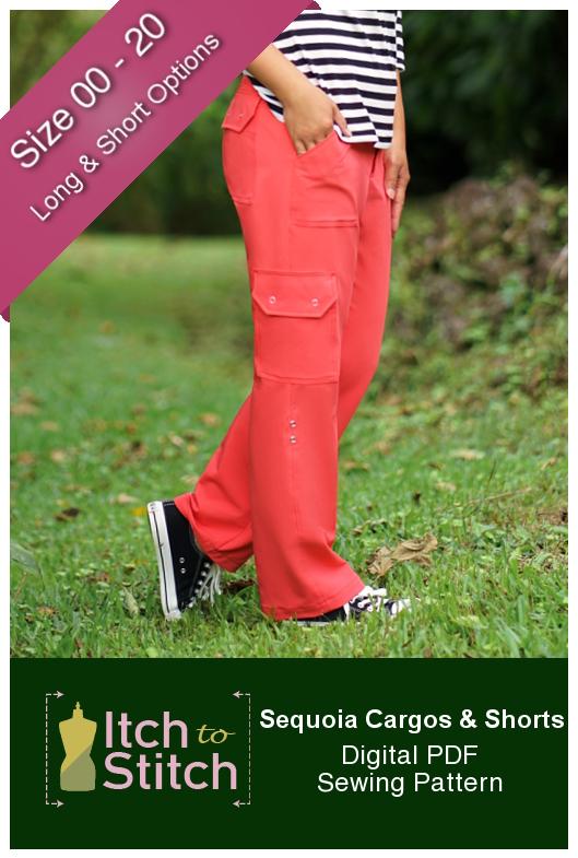 Itch to Stitch Sequoia Cargos & Shorts