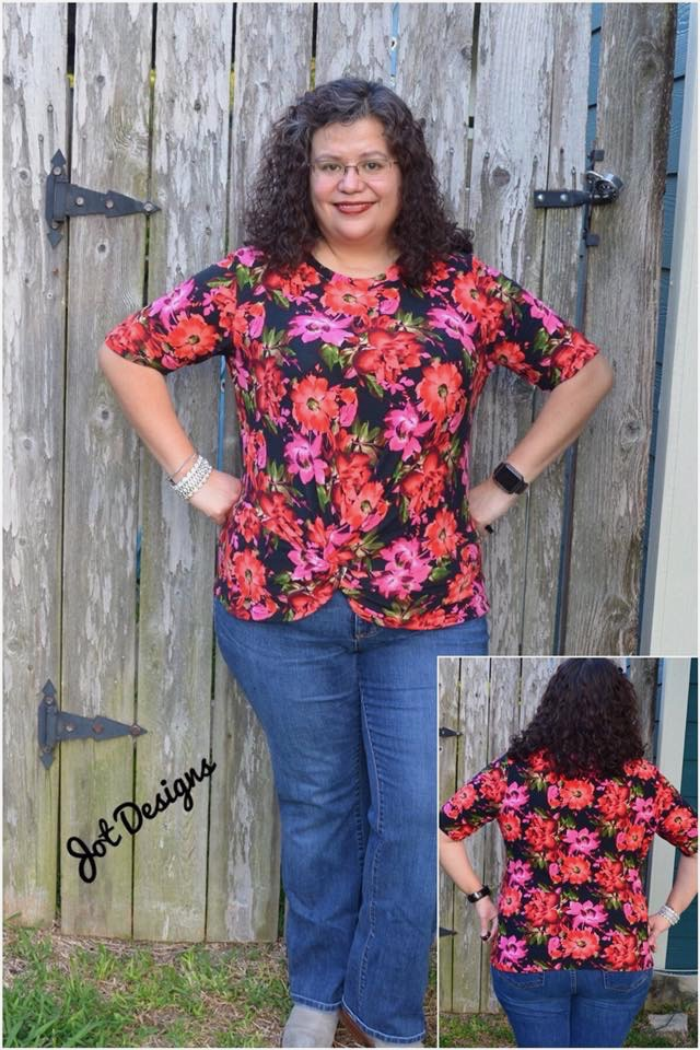 Itch to Stitch Nottingham Top PDF Sewing Patterns