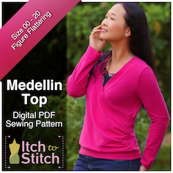 Medellin Top PDF Sewing Pattern