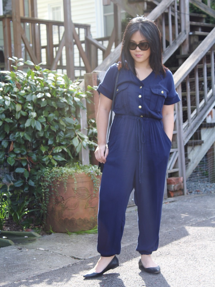 Itch to Stitch Anza Dress and Jumpsuit Angelica Pohl Make It Wear It Blog Series