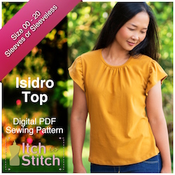 Isidro Top PDF Sewing Pattern