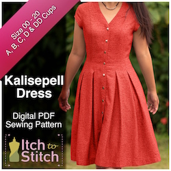 Kallispell Dress PDF Sewing Pattern