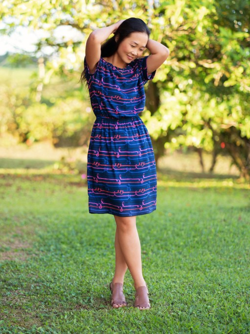 Itch to Stitch Melrose Top and Dress PDF Sewing Pattern 1
