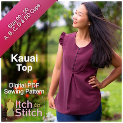 Kauai Top PDF Sewing Pattern