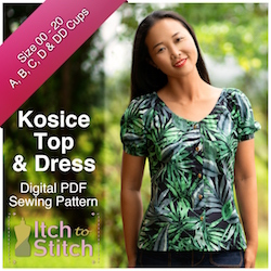 Kosie Top & Dress PDF Sewing Pattern