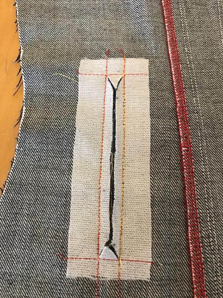 Welt Pocket on Denim Jacket Atenas Jacket Itch to Stitch