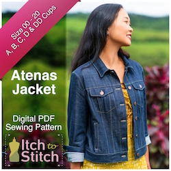 Atenas Jacket PDF Sewing Pattern