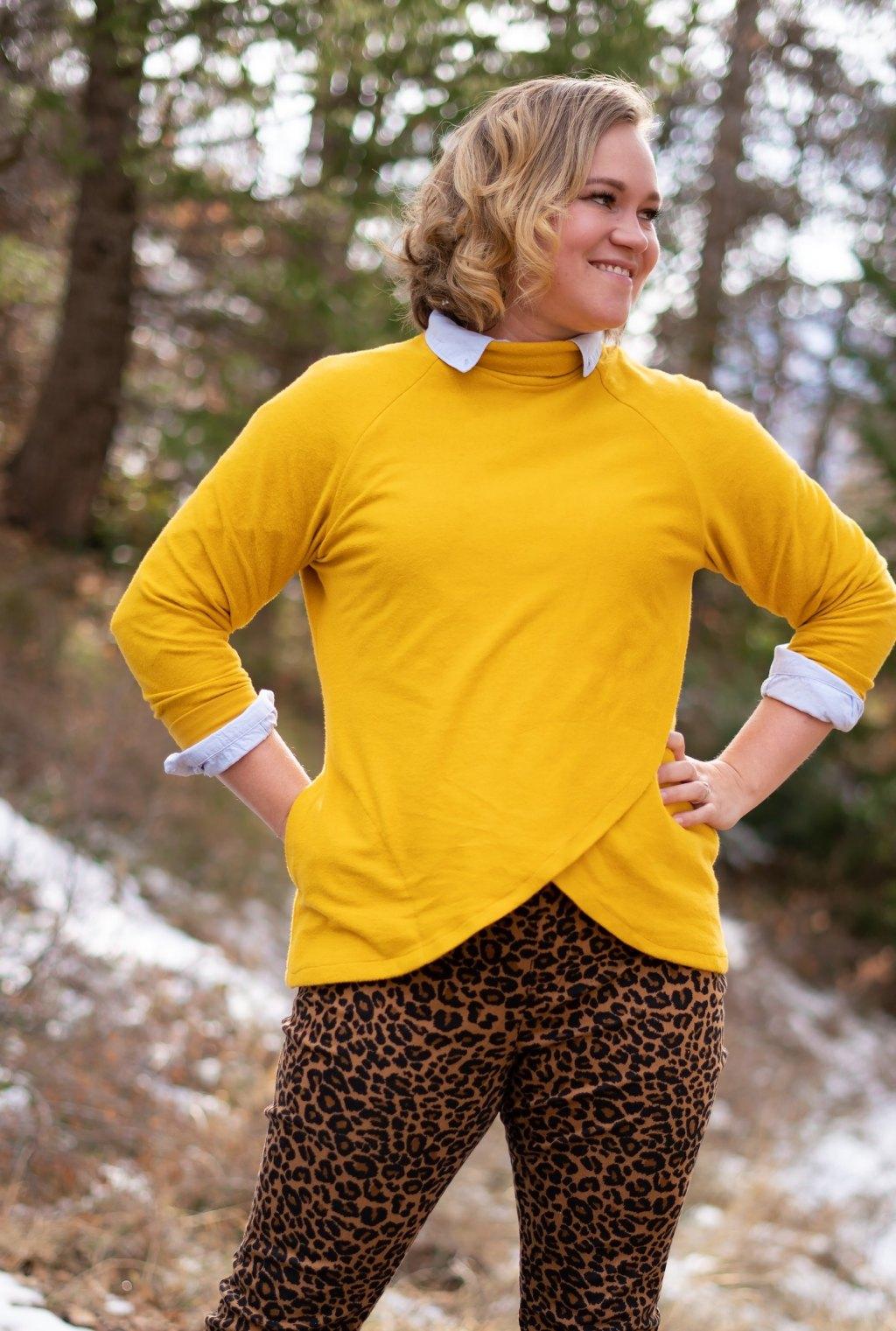 Itch to Stitch Orono Top by Mckell Make It Wear It
