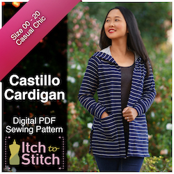 Castillo Cardigan PDF Sewing Pattern