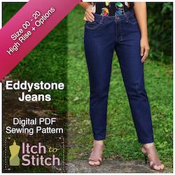 Eddystone Jeans PDF Sewing Pattern