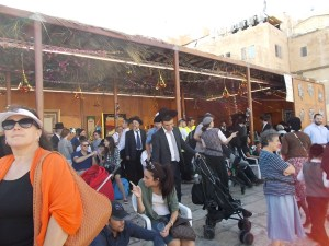 Sukkah at the Western Wall