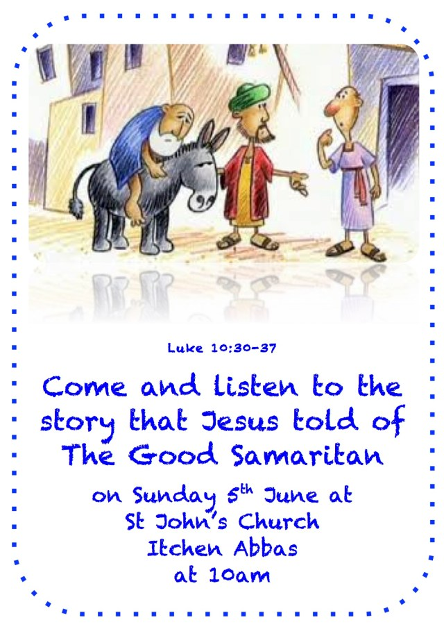 Good Samaritan Flyer