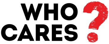Who cares logo