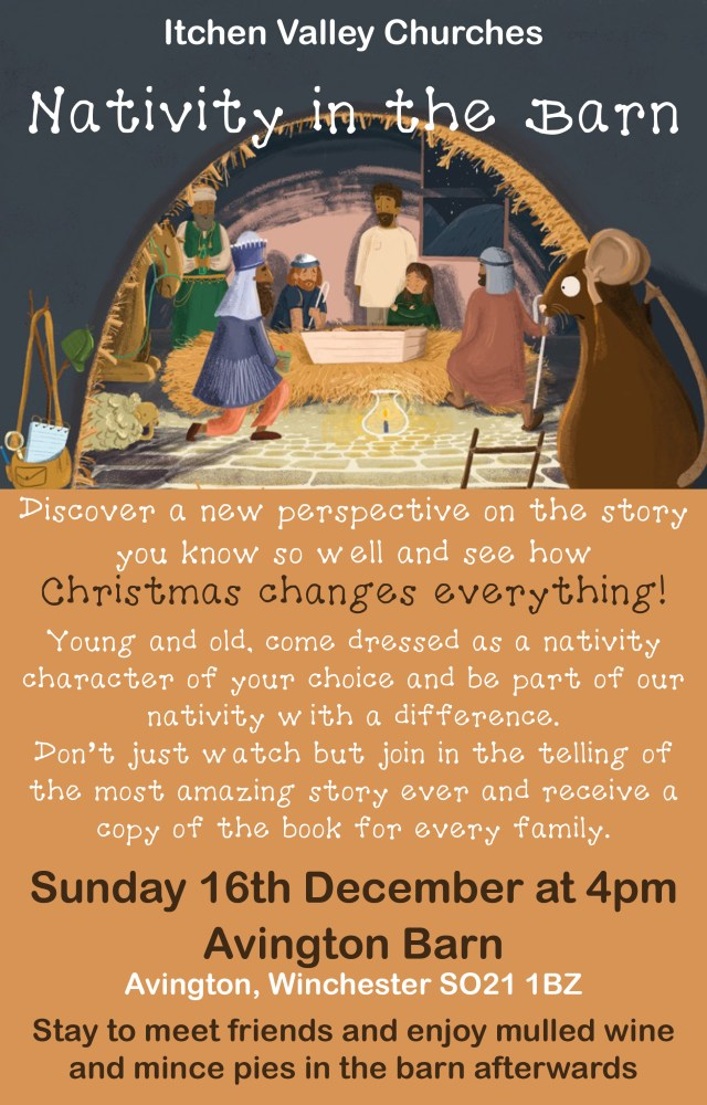 Carols in the Barn Flyer
