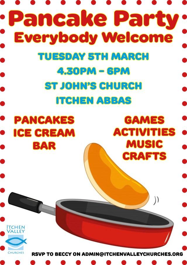 Pancake full page advert