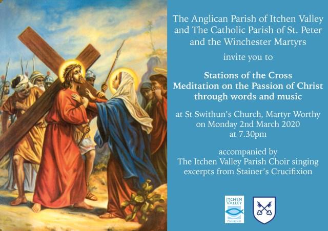 2020 Lenten Stations of the Cross Flyer