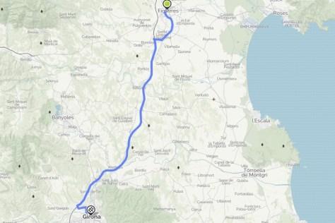 Girona to Figueres