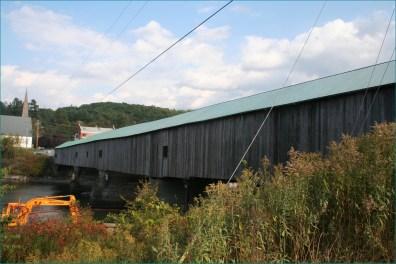 Covered bridge Bath
