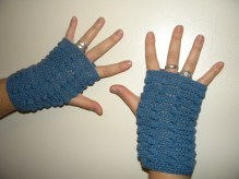Nate fingered-less gloves