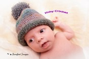 newborn bobble hat