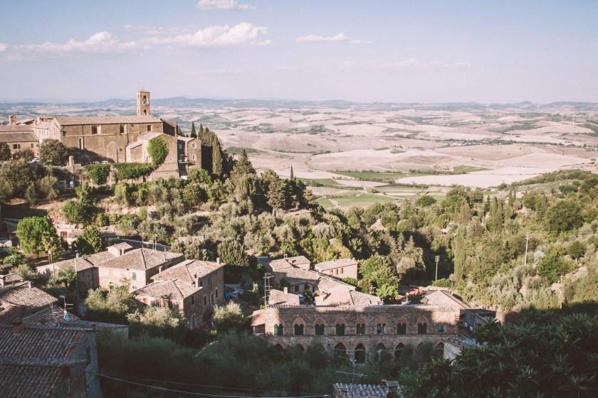 Aussicht auf Montalcino