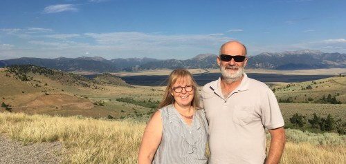 Mike and Phyllis in Montana!