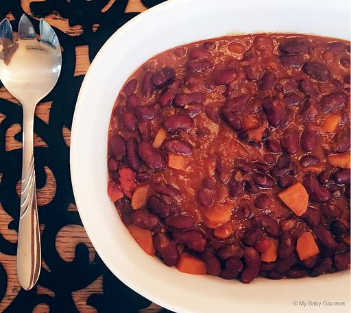 Red Kidney Bean Korma
