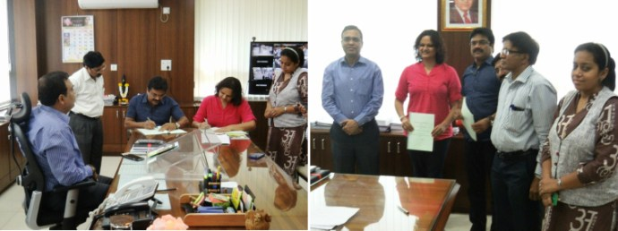 ITDP and TMC sign an MoU to work towards comprehensive transport solutions for the city.