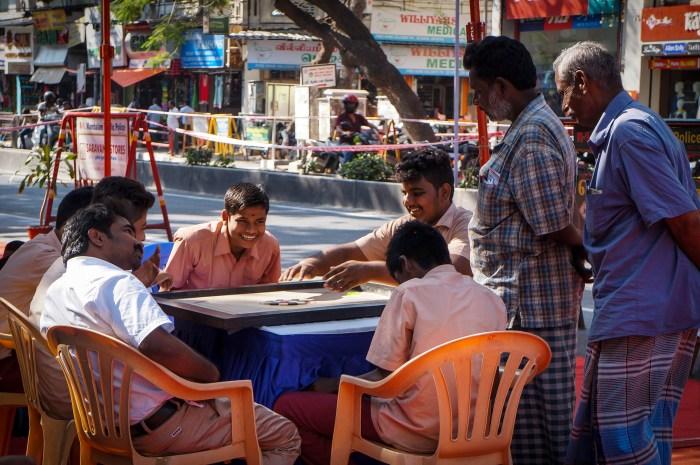 T Nagar Pedestrianisation 2 trial run 3