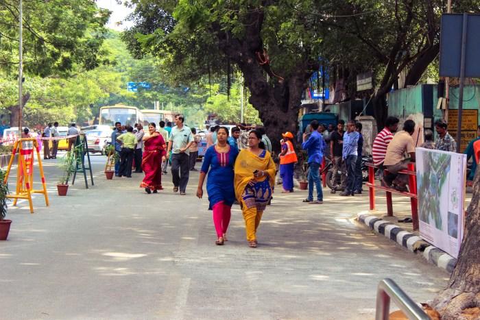 T Nagar Pedestrian Plaza 1
