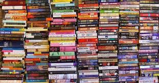 stacks of books