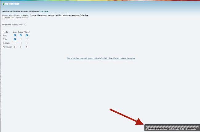 large WordPress plugin