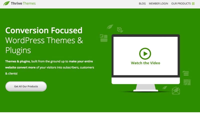 WordPress Plugins Thrive Content Builder
