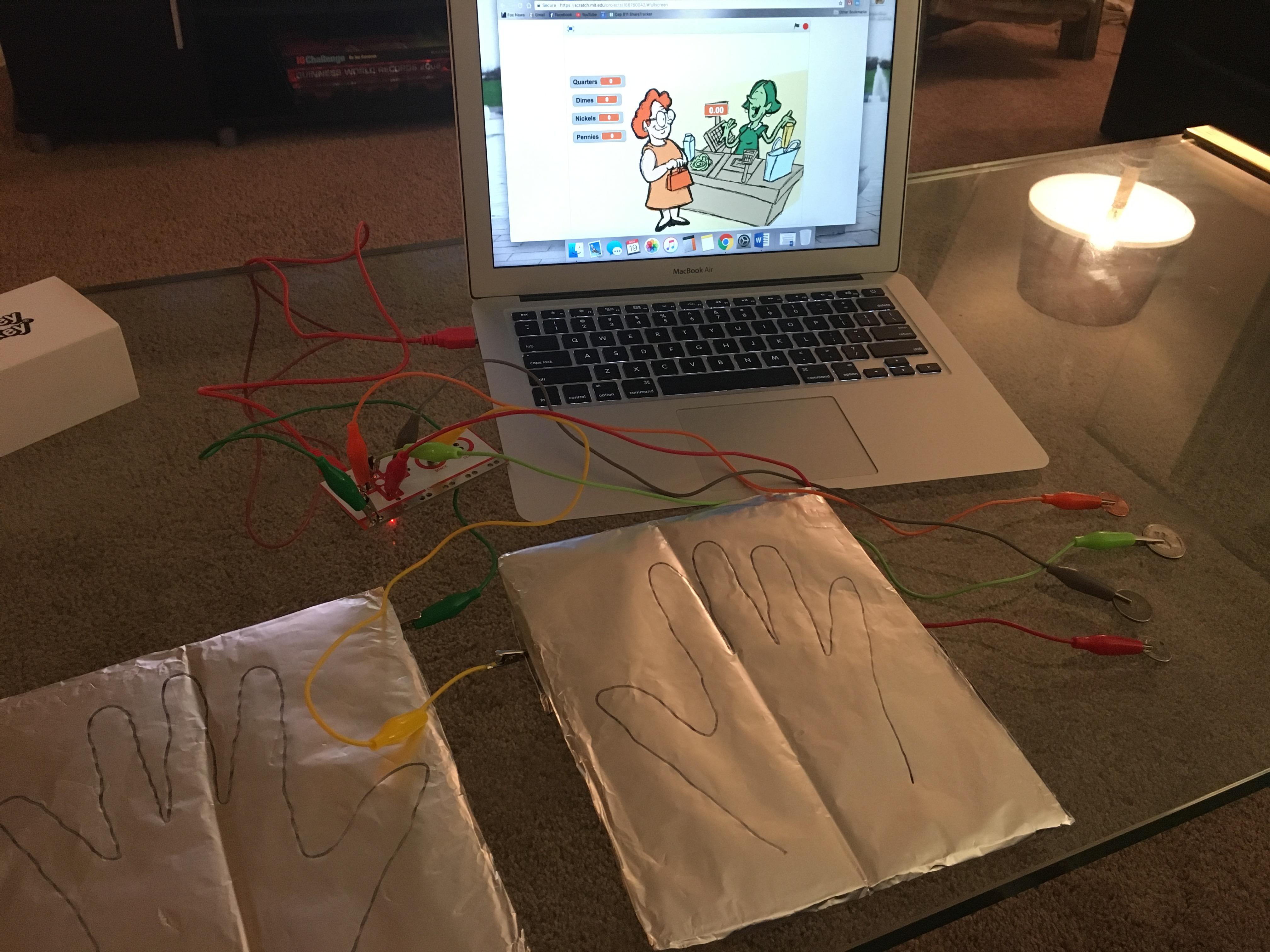 Counting Money And Makey Makey Iteach