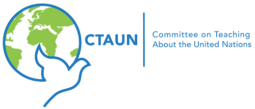 CTAUN Committee on Teaching About the United Nations Logo
