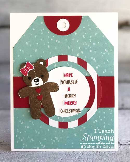 A Christmas card for someone special   I Teach Stamping