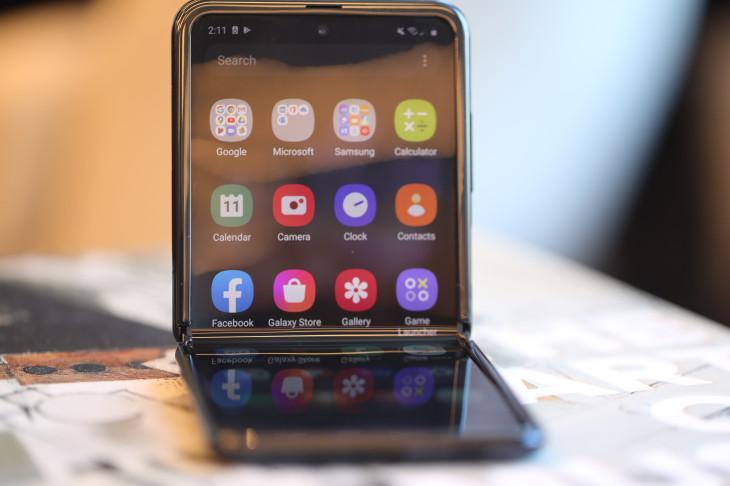 Фліп-телефон Samsung Galaxy Z Flip