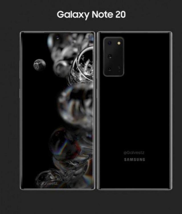 Нова функція для Galaxy Note 20