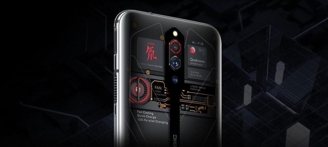 Nubia випустить прозорі смартфони Red Magic 5G